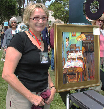 Kathleen Elsey painting workshop Award winnng painting Santa Barbara Artist
