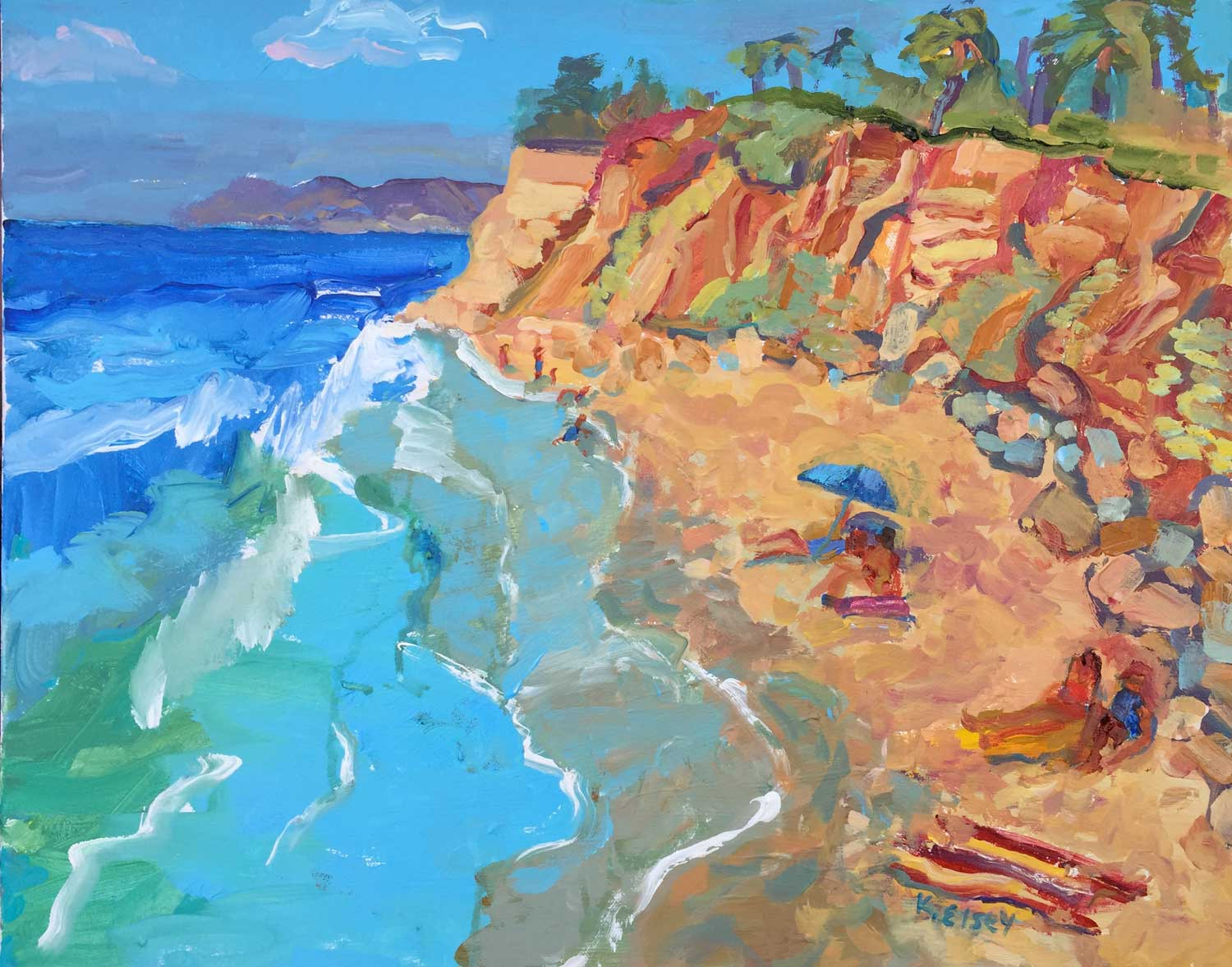 Butterfly Beach Painting Workshop