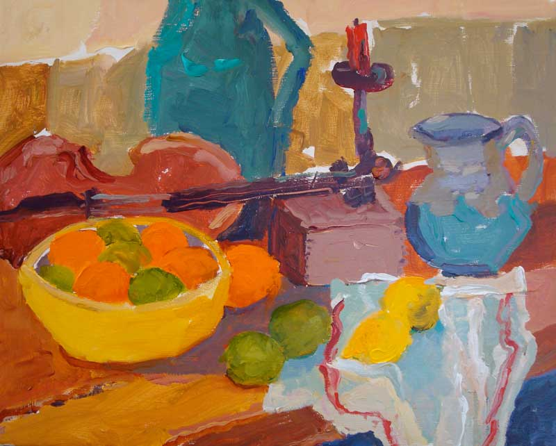 Cezanne's Table Still Life