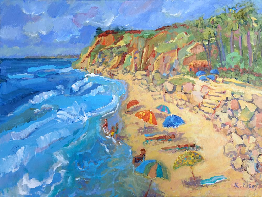 Santa Barbara Beach Painting Workshop