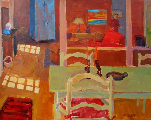 Elsey Painting Workshop Sunlit Room