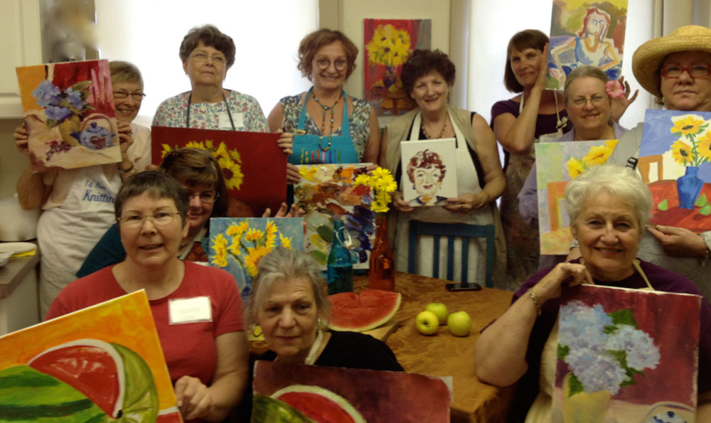 Cuyahoga Valley Art Center Workshop Painters