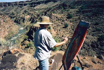 Kathleen Elsey Paintings Workshop New Mexico